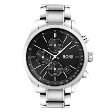 Hugo Boss Gent's S/Steel Grand Prix Chrono Watch 1513477