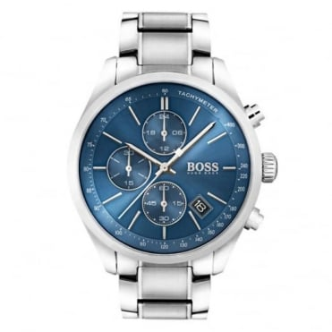 Gent's S/Steel Grand Prix Chrono Watch 1513478
