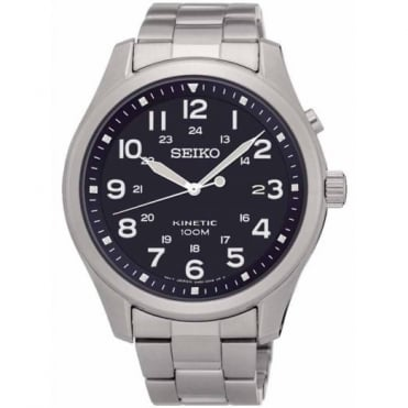 Seiko Gent's S/Steel Kinetic Watch SKA721P1