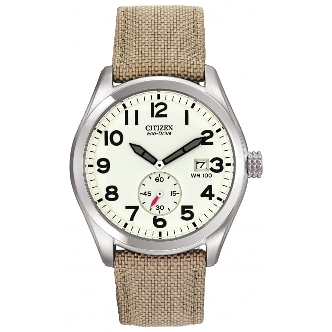 Gents S/Steel Nylon Strap Watch BV1080-18A