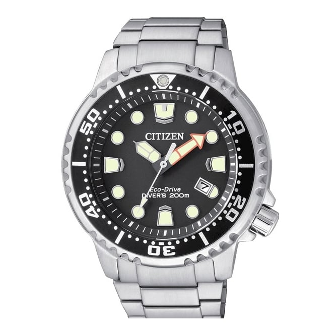 Gent's S/Steel Promaster Divers Eco-Drive Watch BN0150-61E