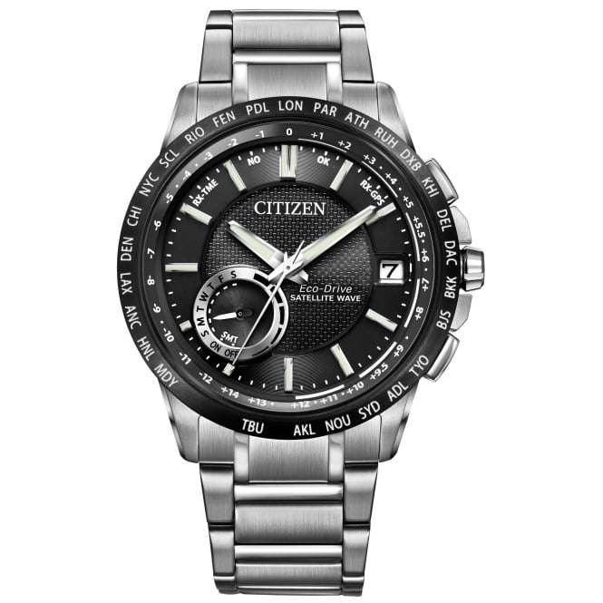 Citizen Gent's S/Steel Satellite Wave GPS Eco-Drive Watch CC3005-85E