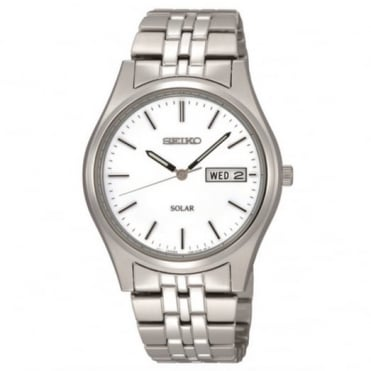 Gent's S/Steel Solar Watch SNE031P1