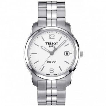 Tissot Gents S/Steel T-Classic PR100 Watch T049.410.11.017.00