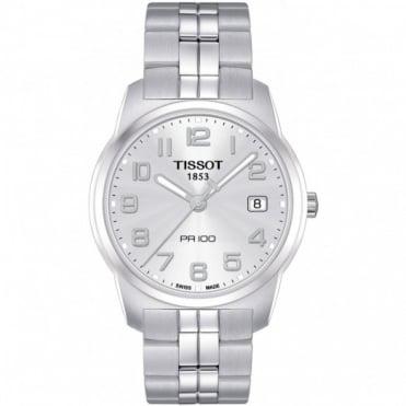 Tissot Gents S/Steel T-Classic PR100 Watch T049.410.11.032.01