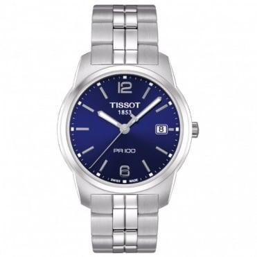 Tissot Gents S/Steel T-Classic PR100 Watch T049.410.11.047.01