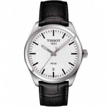 Tissot Gents S/Steel T-Classic PR100 Watch T101.410.16.031.00