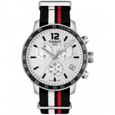 Tissot Gents S/Steel T-Sport Quickster Watch T095.417.17.037.01