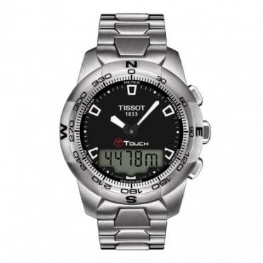 Tissot Gents S/Steel T-Touch II Watch T047.420.11.051.00