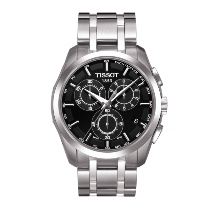 Gents S/Steel T-Trend Couturier Watch T0356171105100