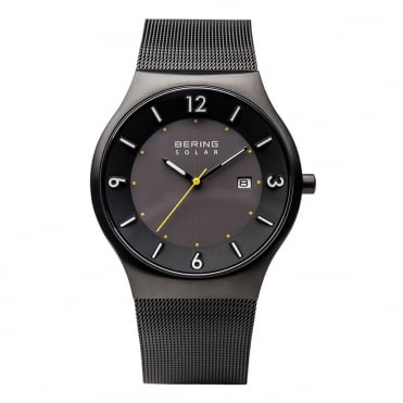 Gents' Solar Black Watch 14440-223