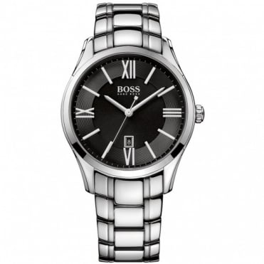Hugo Boss Gent's Stainless Steel Ambassador Watch 1513025