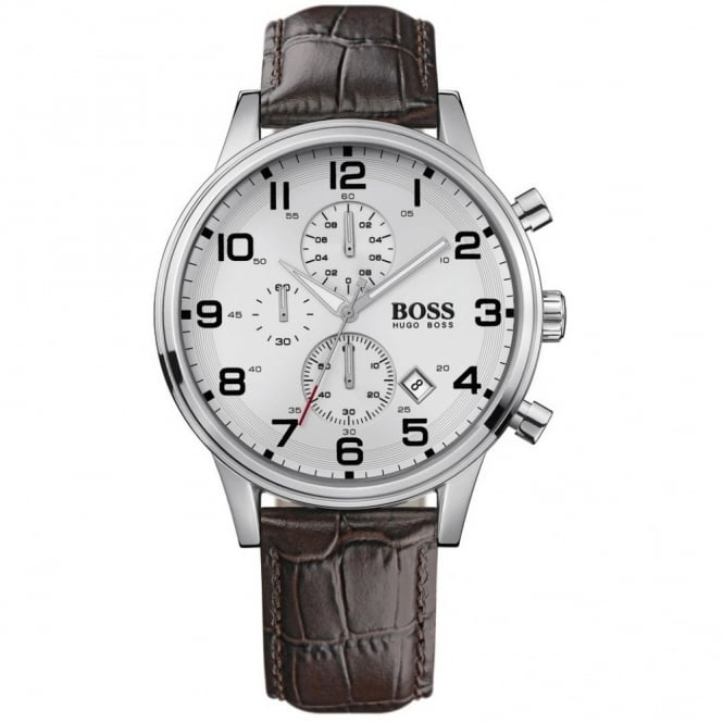 Gents' Stainless Steel Chronograph Aeroliner Watch 1512447