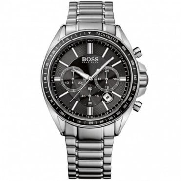 Hugo Boss Gent's Stainless Steel Chronograph Diver Sport Watch 1513080