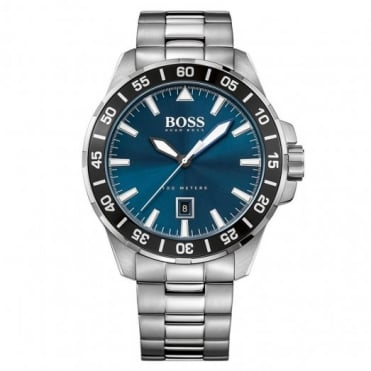 Hugo Boss Gent's Stainless Steel Deep Ocean Watch 1513230