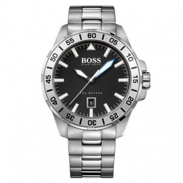 Hugo Boss Gent's Stainless Steel Deep Ocean Watch 1513234