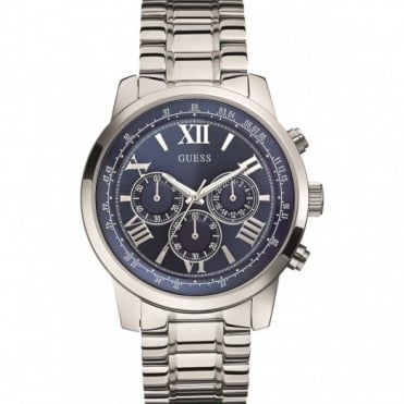 Gents Stainless Steel Horizon Chronograph Watch W0379G3