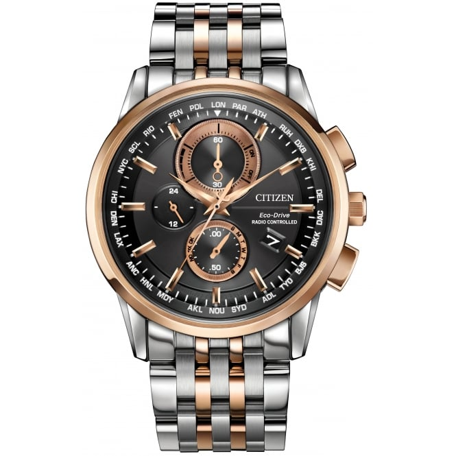 Citizen Gent's Stainless Steel Universal Chronograph Watch AT8116-57E