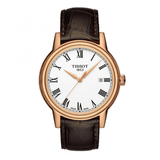 Gents T-Classic T-Gold Carson Watch T0854103601300