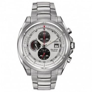 Citizen Gents Titanium Chrono Eco-Drive Watch CA0550-87A