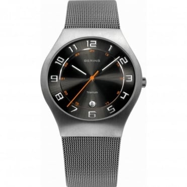 Gents' Titanium S/Steel Watch 11937-007