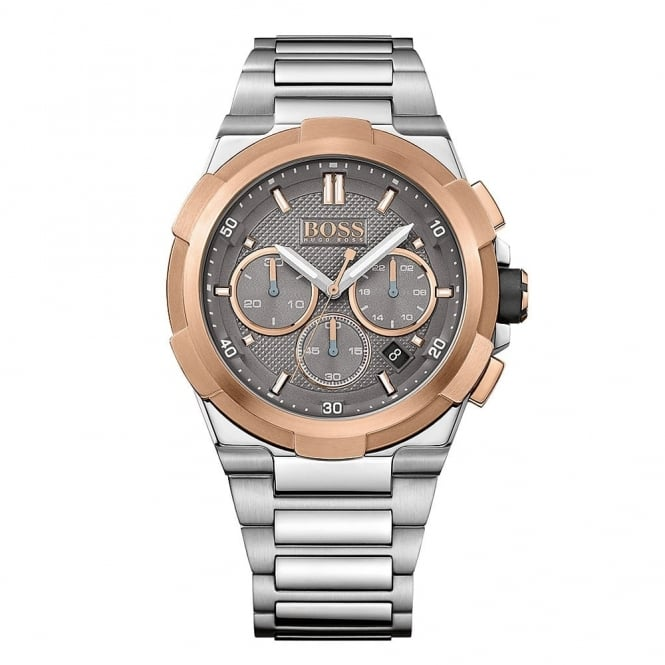 Hugo Boss Gent's Two Tone Chrono Supernova Watch 1513362