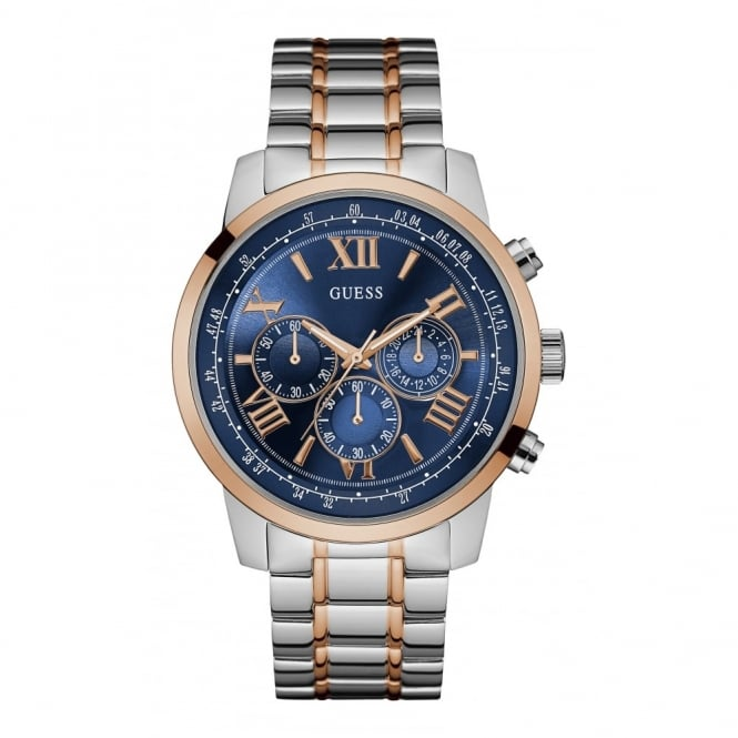 Gent's Two Tone Chronogrpah Horizon Watch W0379G7
