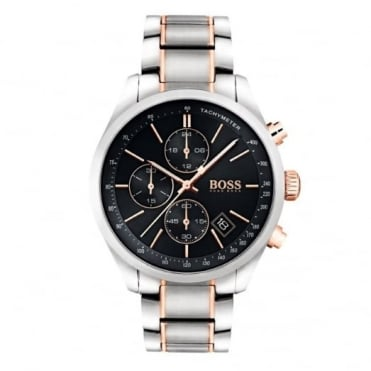 Gent's Two Tone Grand Prix Chrono Watch 1513473