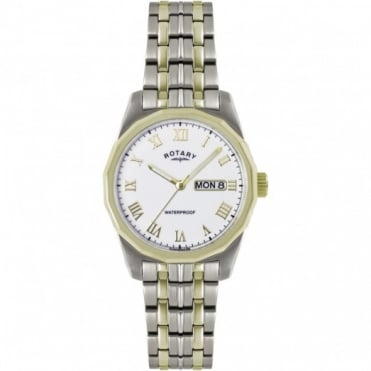 Rotary Gents Two Tone Watch GB02227/02