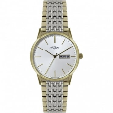 Rotary Gents Two Tone Watch GB02757/03