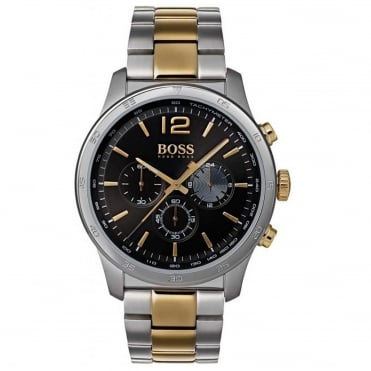 Gents's Two Tone Professional Chronograph Watch 1513529