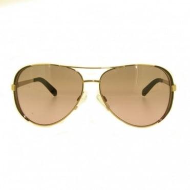 Michael Kors Gold Plated Sunglasses MK5004 101414