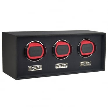 Goodwood Black Triple Watch Winder 71155