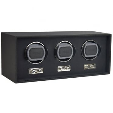 Goodwood Black Triple Watch Winder 71170