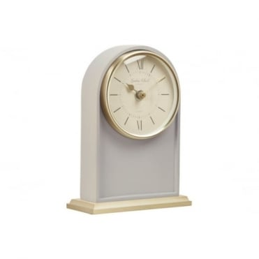Grey Arch Mantel Clock 03139