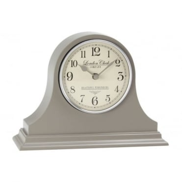 Grey Napoleon Mantel Clock 03100