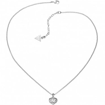 Guess Crystals of Love Necklace UBN51419