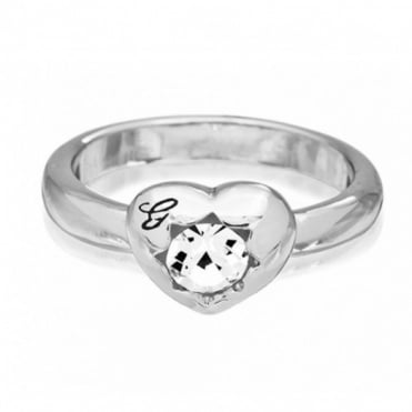 Guess Crystals of Love Ring UBR51408-54