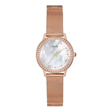 Ladies' Rose Plate Stone Set Chelsea Watch W0647L2