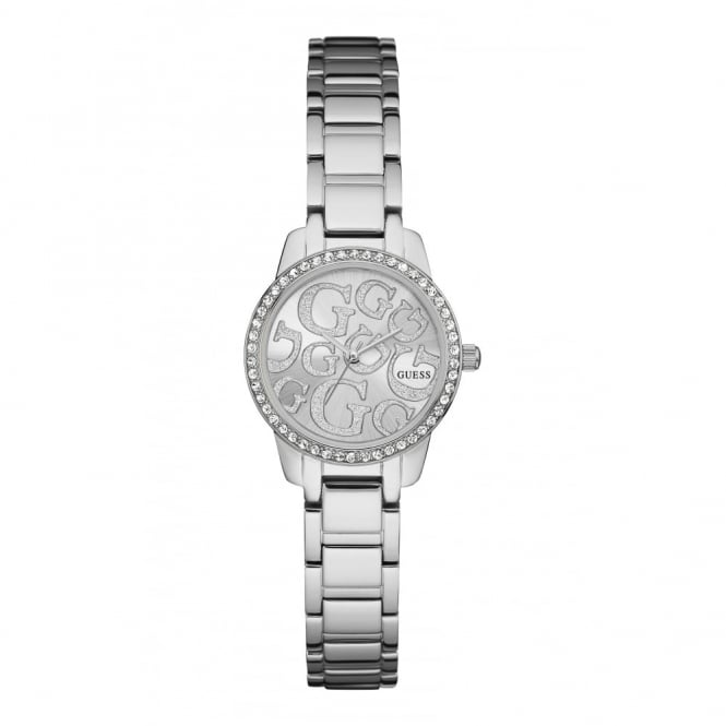 Guess Ladies' S/Steel Stone Set Greta Watch W0891L1