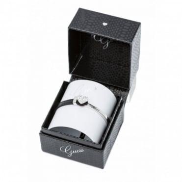 Guess Pave Heart Bracelet UBS91307