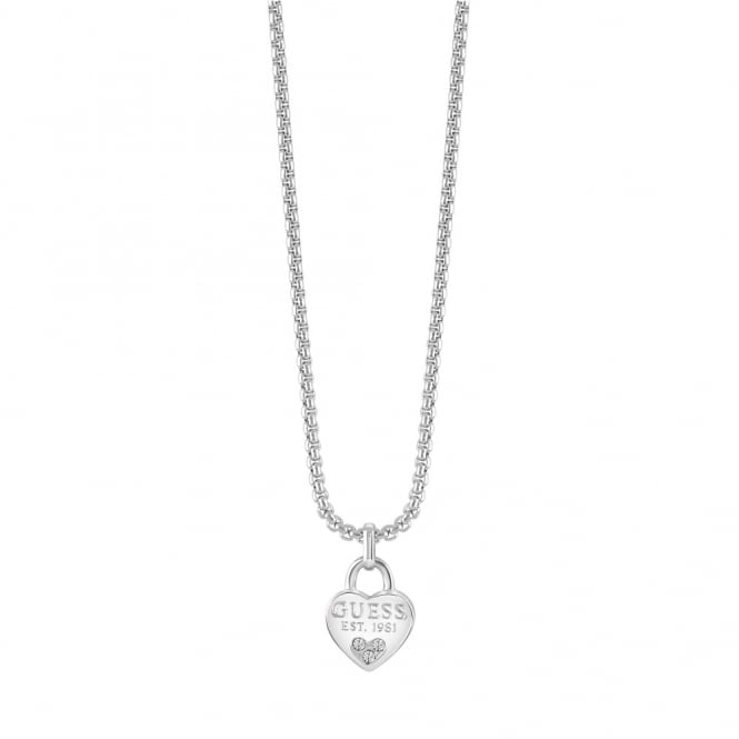 Silver Plate All About Shine Necklace UBN82094