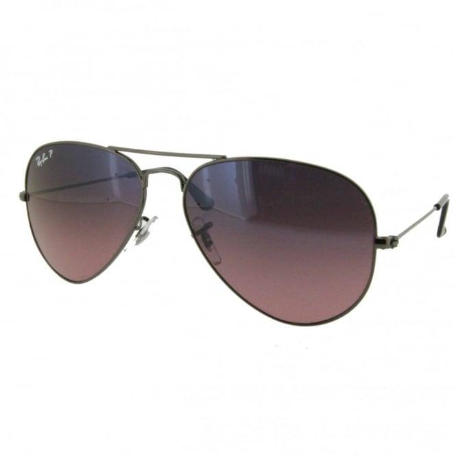 ade56d5448479d Gunmetal Aviator Sunglasses RB3025 004 77 58 - Sunglasses from ...