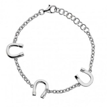 Hot Diamonds Lucky Silver Bracelet DL300