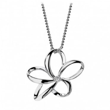 Hot Diamonds Open Petal Pendant DP230