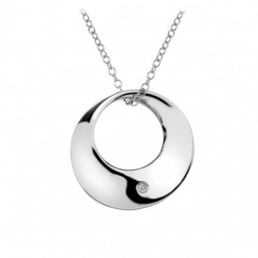 Hot Diamonds Silver Circle Pendant DP369