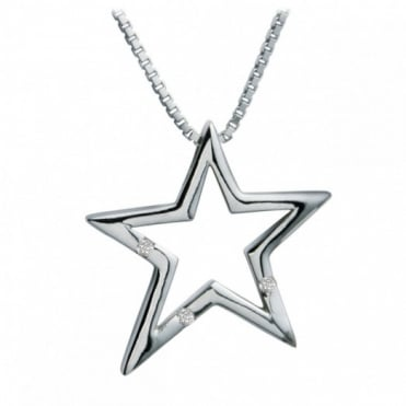 Hot Diamonds Silver Distinctive Pendant DP093