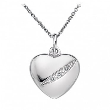 Hot Diamonds Silver Heart Pendant DP398