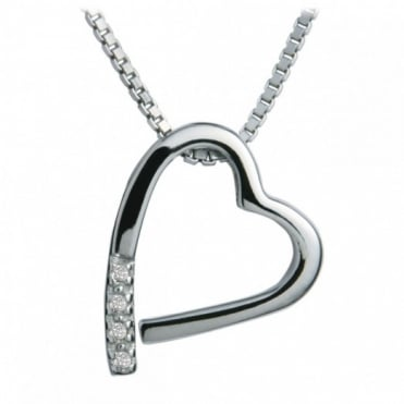 Hot Diamonds Silver Memories Pendant DP100