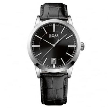 Hugo Boss Gent's Black Leather Sucess Watch 1513129